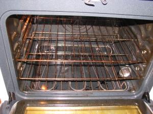 Oven rack arrangement